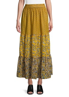 French Connection Savanna Sheer Maxi Skirt