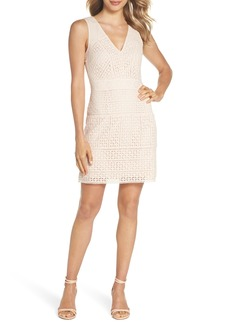French Connection Schiffley Summer Cage Cotton Dress