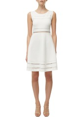 French Connection Scille Lula Jersey Fit & Flare Dress