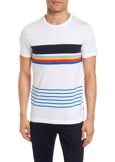 French Connection Senior Stripe Slim Fit T-Shirt