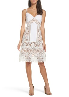 French Connection Shaka Lace Dress