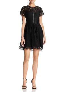 FRENCH CONNECTION Shana Scalloped Lace Dress