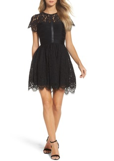 French Connection Shana Spotlight Lace Dress