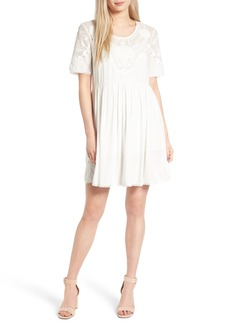 French Connection Shannon Fit & Flare Dress