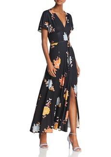 FRENCH CONNECTION Shikoku Crepe Maxi Dress