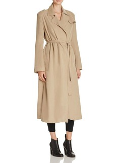 FRENCH CONNECTION Sidewalk Drape Trench Coat