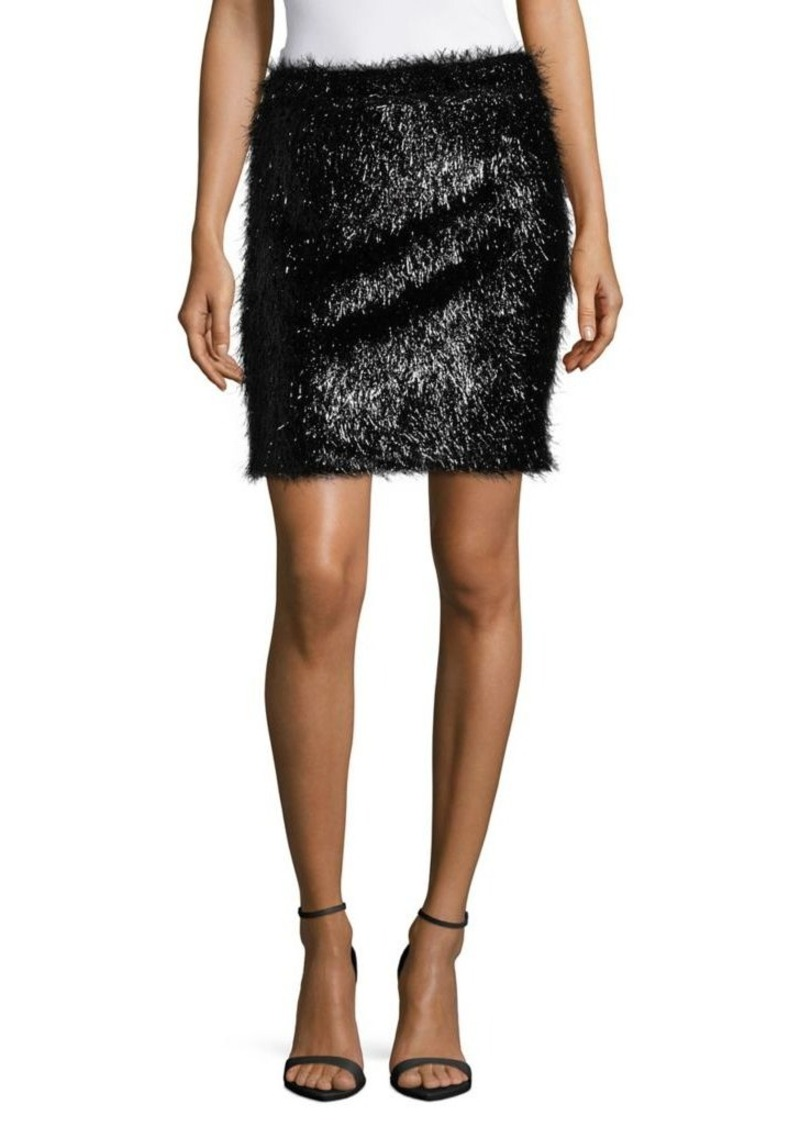 be8d581569 SALE! French Connection French Connection Simone Tinsel Jersey Skirt