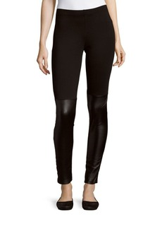 French Connection Skinny-Fit Solid Leggings