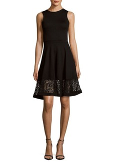 French Connection Sleeveless Lace Dress