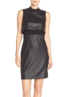 French Connection Sleeveless Popover Body-Con Dress