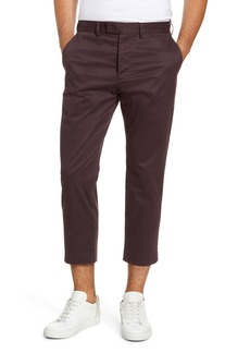 French Connection Slim Fit Cropped Chinos