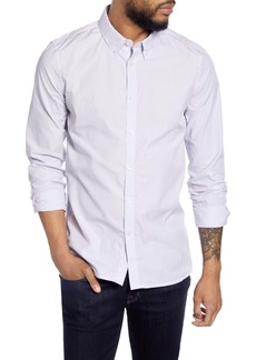 French Connection Slim Fit Pinstripe Button-Down Shirt