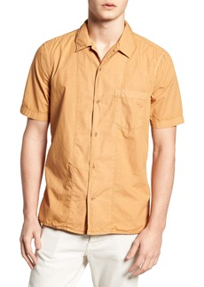French Connection Slim Fit Solid Sport Shirt