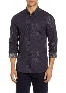 French Connection Sobo Slim Fit Button-Up Shirt