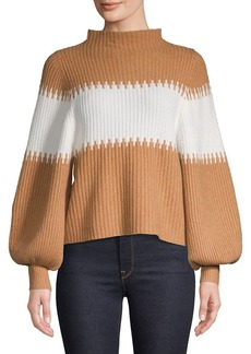 French Connection Sofia Knits Colorblock Sweater