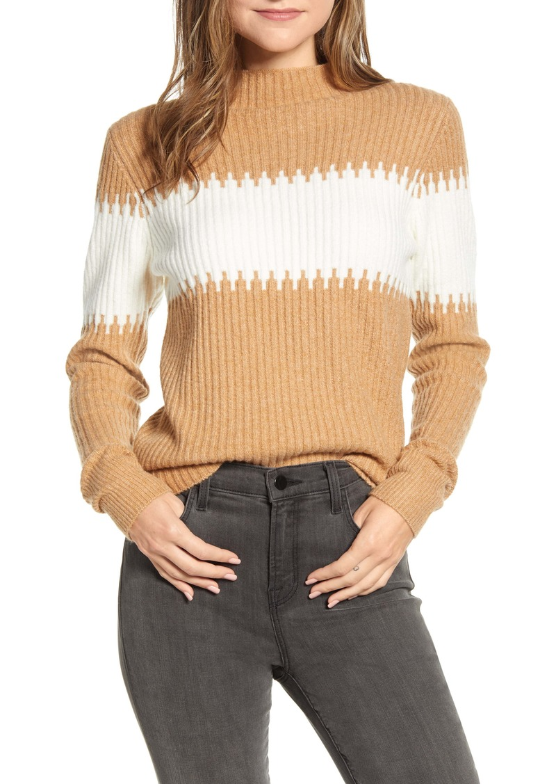 French Connection Sophia Stripe Rib Sweater