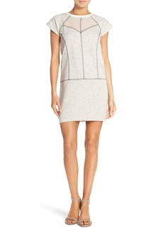 French Connection Speckled Sweatshirt Dress