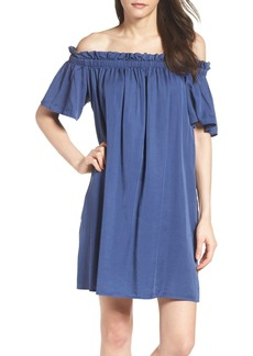 French Connection Stayton Off the Shoulder Dress
