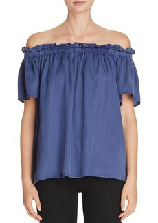 FRENCH CONNECTION Stayton Off-The-Shoulder Top