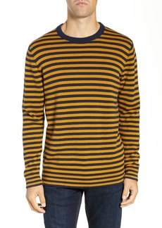 French Connection Stripe Cotton & Wool Sweater