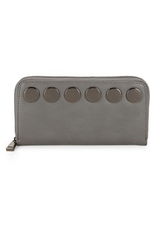 French Connection Studded Zip-Around Wallet