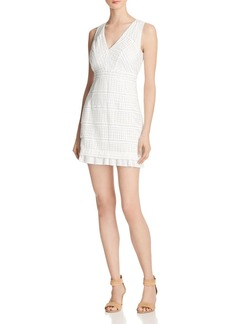 FRENCH CONNECTION Summer Cage Lace Dress