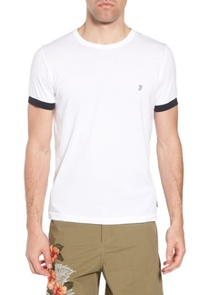 French Connection Summer Contrast Cuff T-Shirt