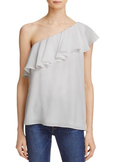 FRENCH CONNECTION Summer Crepe One Shoulder Top