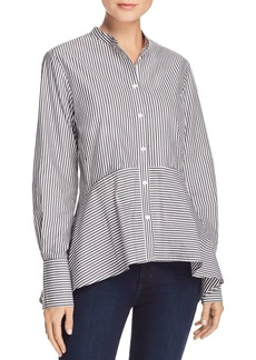 FRENCH CONNECTION Summer Striped Shirt
