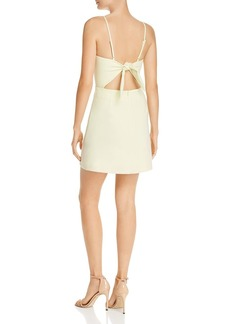 FRENCH CONNECTION Whisper Sweetheart Tie-Back Mini Sheath Dress