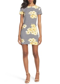 French Connection Sunflower Stripe Sheath Dress