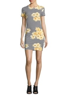 French Connection Sunflower Striped Dress