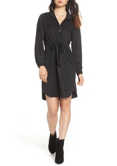 French Connection Sunny Drawstring Shirtdress