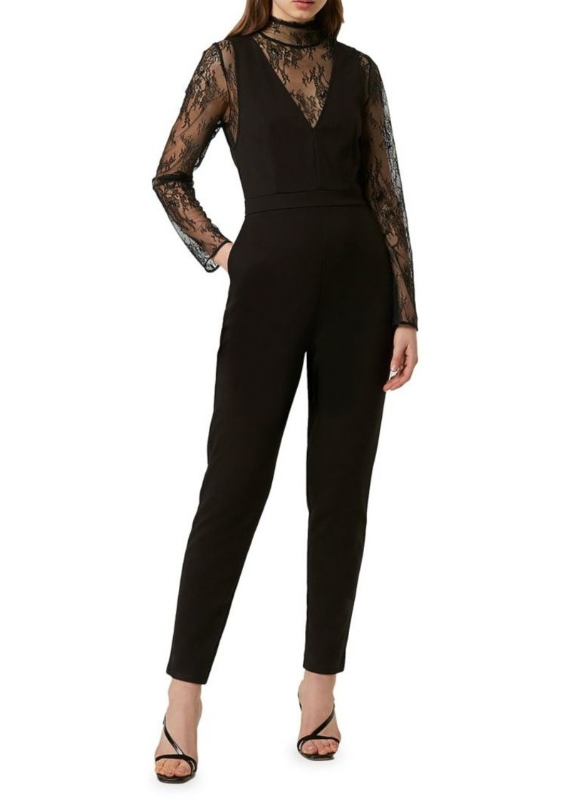French Connection Tabetha Lace Jumpsuit