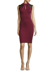 French Connection Tania Tuck Sleeveless Bodycon Dress