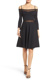 French Connection Tatlin Off the Shoulder Dress
