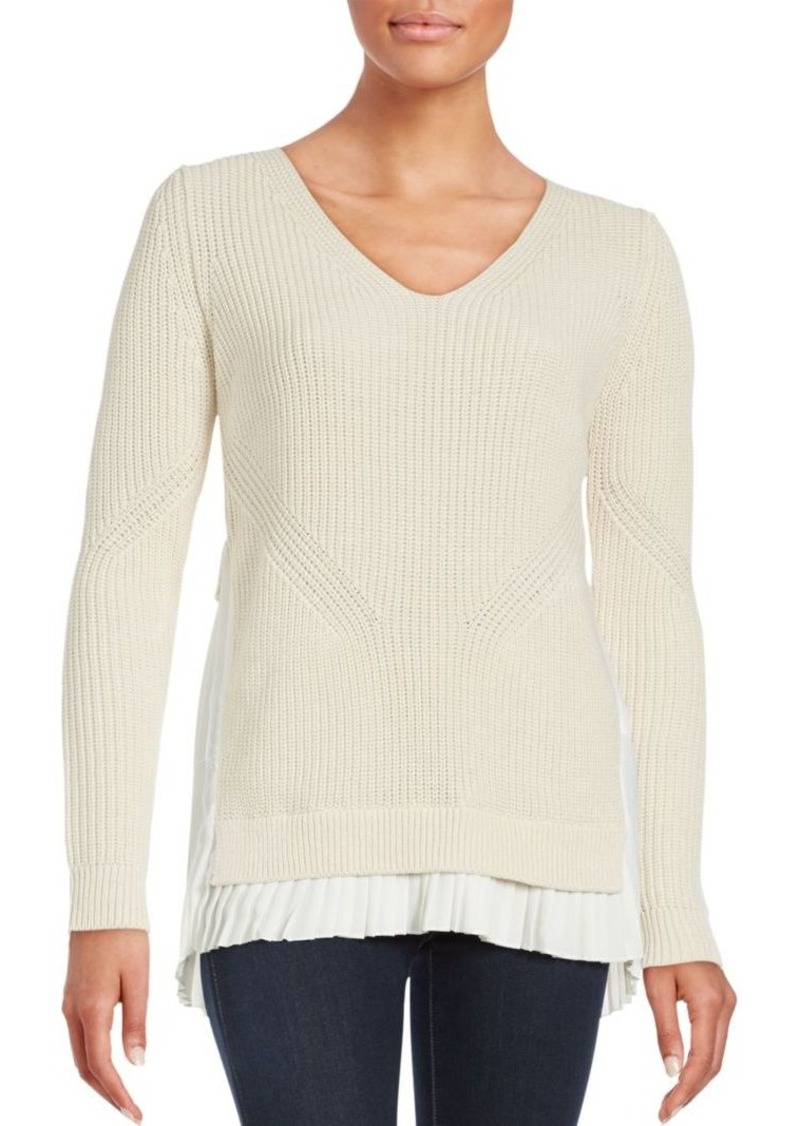 French Connection French Connection Taurus Knit Cotton-Blend ...
