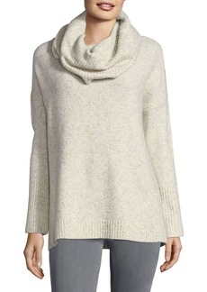 French Connection Textured Cowlneck Sweater