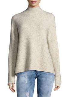 Textured Mockneck Sweater