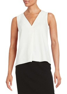 FRENCH CONNECTION Textured V-Neck Top