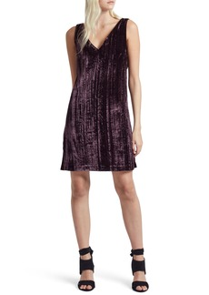 French Connection Theresa Velvet Shift Dress