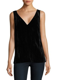 French Connection Theresa Velvet Sleeveless Top