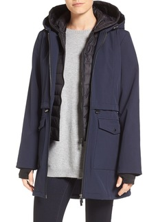 French Connection Three-Quarter Anorak with Removable Bib