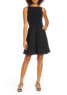 French Connection Tia Tobey Fit & Flare Dress