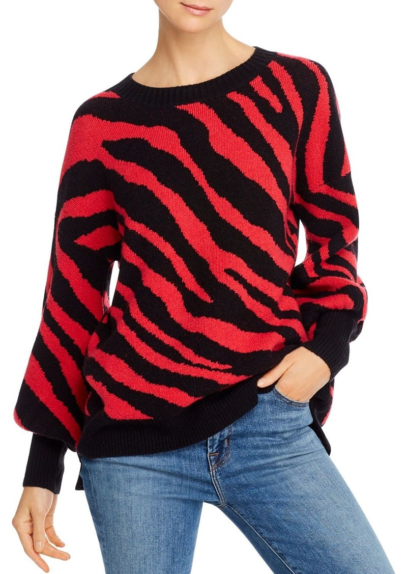 FRENCH CONNECTION Tiger Jacquard Sweater