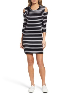 French Connection Tim Tim Cold Shoulder Dress