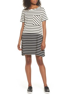 French Connection Tim Tim Stripe Shift Dress