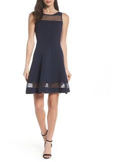 French Connection Tobey Fit & Flare Sweater Dress