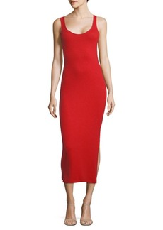 French Connection Tommy Ribbed Bodycon Dress