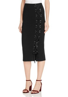 FRENCH CONNECTION Tommy Ribbed Skirt